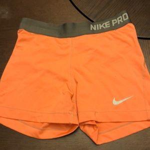 Bundle of 8 Nike shorts